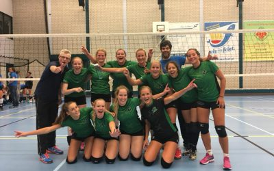 Dames 1 door in de beker!