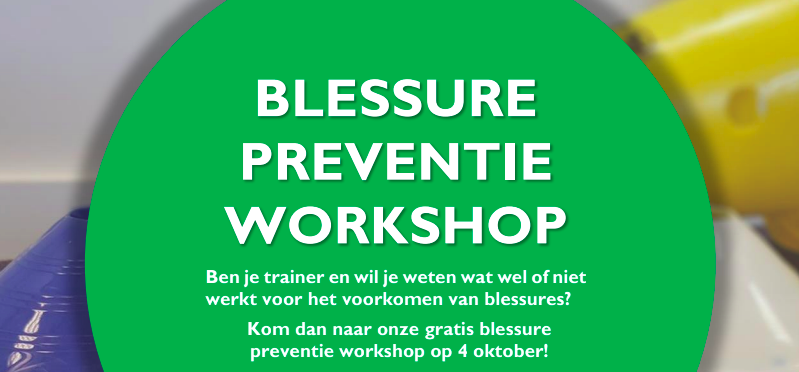 Blessure preventie workshop